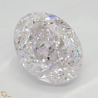 1.53 ct, Natural Light Pink Color, VS1, Oval cut Diamond (GIA Graded), Appraised Value: $124,200