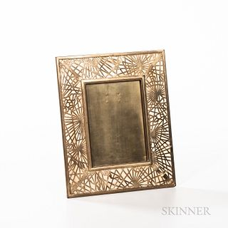 Tiffany Studios Pine Needle Pattern Picture Frame