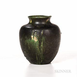 Grueby Pottery Narcissus Vase