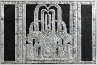 Art Deco Architectural Panel