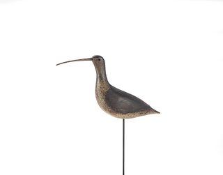 Tieger Long-Billed Curlew Decoy, Thomas H. Gelston (1850-1924)