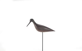 Rare Dowitcher Decoy, Nathan Rowley Horner (1882-1942)