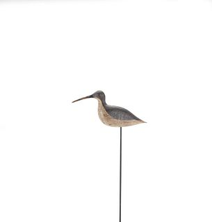 Dowitcher Decoy, Barkalow Family