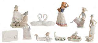 Lladro and Nadal Figurine Assortment