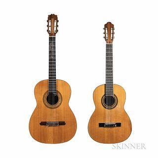 Two Classical Guitars, Geronimo Villafán, c. 1958
