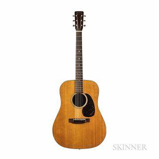 C.F. Martin & Co. D-18 Acoustic Guitar, 1963