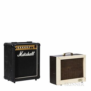 Two Guitar Amplifiers
