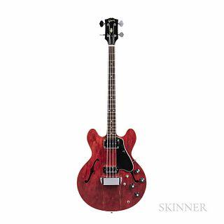 Gibson EB-2D Electric Bass Guitar, c. 1970