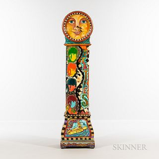 Linda Jacque The Beatles-inspired Tall Clock