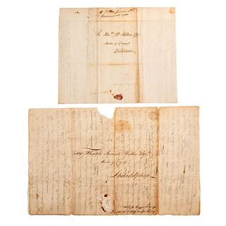 [REVOLUTIONARY WAR - CONTINENTAL CONGRESS]. [HOLTEN, Dr. Samuel (1738-1816)]. An archive of letters related to Danvers, Massachusetts, physician and s