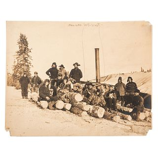 [ALASKAN GOLD RUSH]. William Steele West (1872-1941) and family, extensive archive of photographs, diaries, correspondence, and personal items. [Ca 19
