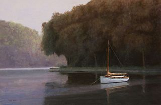 """""""Peaceful Anchorage"""" by Mark Hunter, Boonton Township, NJ"""