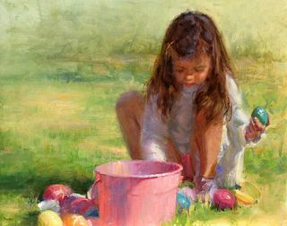 """""""Counting Easter Eggs"""" by Stacy Barter, Winter Park, Florida"""