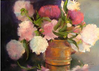 """Peonies"" by Diane Stolz, Kansas City, MO"