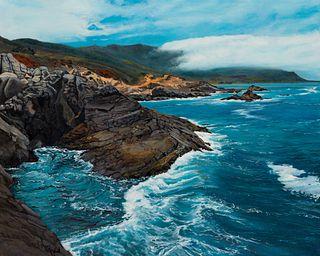 """Carmel California Highlands"" by Robert E West, Mountain Home, ID"