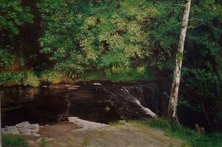 """""""Afternoon Shadows at Glencar"""" by Robin Baratz, Newton, MA"""