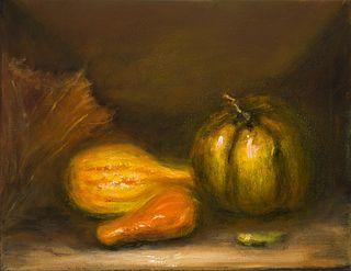 """Pumpkins"" by Leila Yassami, New York, NY"