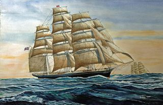 """""""Cutty Sark Round the Horn"""" by Barry J Shiff, Fort Lee, NJ"""