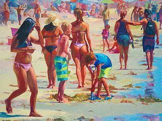 """Summers Day at Pacific Beach"" by Joseph Warren, Oakland, Florida"