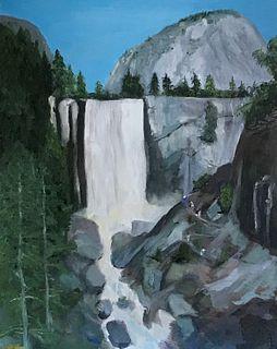 """The Falls"" by Daniel Kilgore, Escondido, CA"