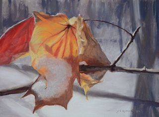 """Autumn's Last Stand"" by Susan Klinger, East Norriton, PA"