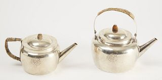 Sterling Coffee and Tea Pots