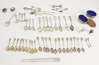 Mixed lot of Sterling