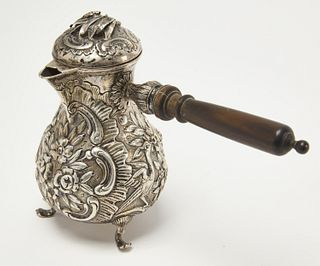 Sterling Late 19th Century German Coffee Pot