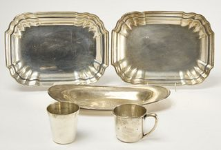 Sterling Lot by International and Lebkuecher