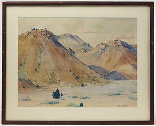 Roger Hayward - Southwestern Watercolor