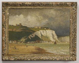 "Norman Wilkinson 1959 ""The Foreshore - Dover"""
