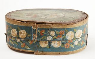 Painted Bride's Box