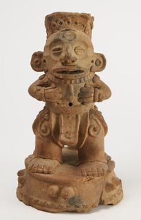 Pre Columbian Pottery Figure