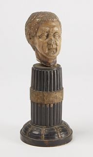Small Early Marble Head of a Man