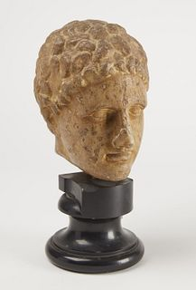 Early Italian Marble Stone Head