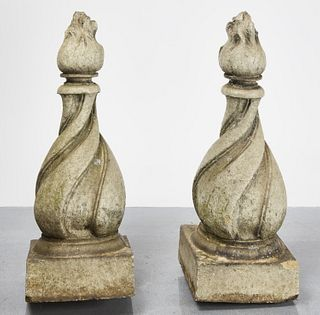 Pair Pottery Architectural Elements