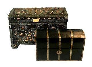 Dowry Chest & Wooden Chinese Jewelry Chest