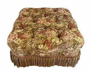 Custom Quality Pouf Ottoman