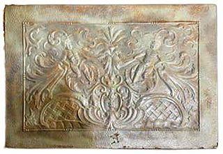 19th Century Tin Building Decoration