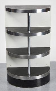 Art Deco Demi-Lune Kitchen Shelf