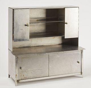 Salesman's Sample Chrome Cabinet