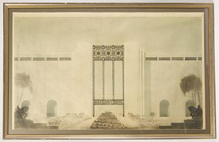 Architectural Rendering - Army Navy Bowl -1933