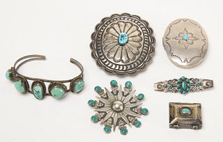 Lot Navajo Silver and Jewelry