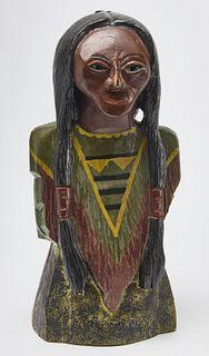Folk Art Indian Figure