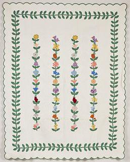 Floral Vines Quilt