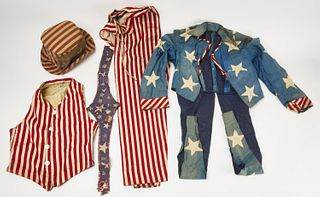 Adult Size Patriotic Uncle Sam Suit