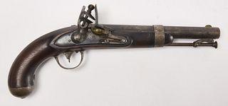 Early Flintlock Pistol