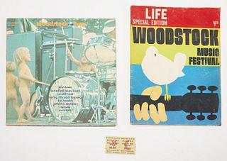 Woodstock Festival Original Ticket Lot