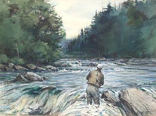 Milton C. Weiler (1910-1974), Fly Fishing