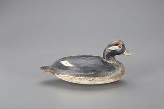 Bufflehead Hen Decoy, Ira D. Hudson (1873-1949)